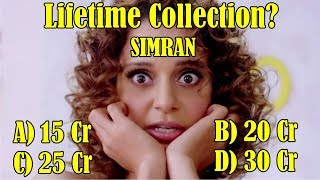 Simran Lifetime Collection? Audience Poll