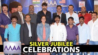 MAA Association Silver Jubilee Celebrations || Sivaji Raja || Srikanth || Bhavani HD Movies
