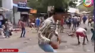 शराबबंदी को लेकर सड़कों पर उतरी महिलाएं ,देशी शराब ठेके पर की तोड़ फोड़।