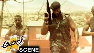 Bodo Escapes With Jua From Goons - Adventure Scene - Akhil Movie Scenes