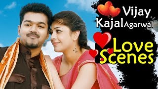 Vijay Kajal Agarwal Love Scenes - Back To Back - Latest Telugu Love Scenes - Best Love Scenes