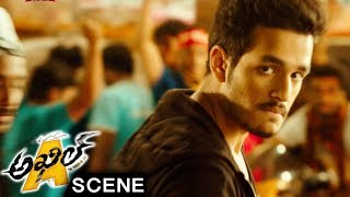 Akhil Stunning Action Introduction Scene - Akhil Movie Scenes