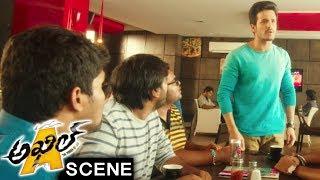 Akhil And Madhunandan Comedy Scene - Akhil Movie Scenes