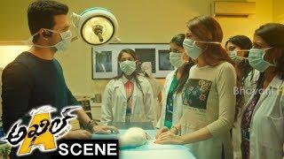 Akhil Saves Rabbit With Heart Surgery - Comedy Scene - Akhil Movie Scenes