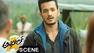 Mambo Kidnaps Mahesh To Surrender Sayesha And Akhil - Akhil Movie Scenes