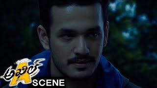 Akhil Saves Sayesha From Wild Animal - Adventure Scene - Akhil Movie Scenes