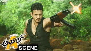 Akhil Finished Goons And Replaced Jua - Climax Stunning Action Scene - Akhil Movie Scenes
