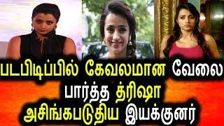 15 வருட சினிமா வாழ்வில் உச்சகட்ட அசிங்கப்பட்ட த்ரிஷா|Trisha Insulting By Famous Director