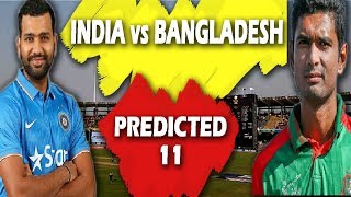 India vs Bangladesh 2nd T20 - INDIA Playing XI against Bangladesh | Exclusive