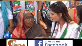 Mahila Congress Distribute Sanitary Napkins On The Occasion Of Womens Day