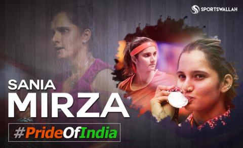 Sania Mirza : Beauty With Brains And Mesmerizing Tennis Skills