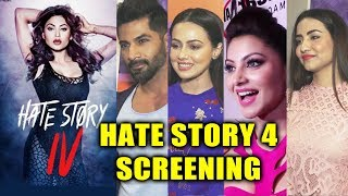 HATE STORY 4 Screening | Urvashi Rautela, Sana Khan, Vivan Bhatena, Ihana Dhillon