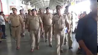 चारबाग स्टेशन को मिली बम से उड़ाने की धमकी,पूरे स्टेशन की की गई चेकिंग