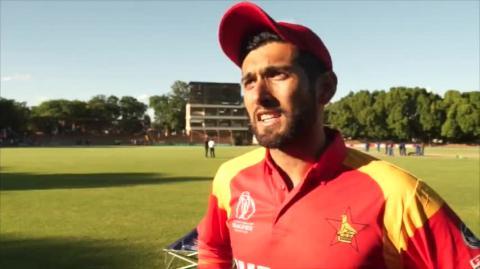 ICC World Cup Qualifier: Zimbabwe vs Afghanistan
