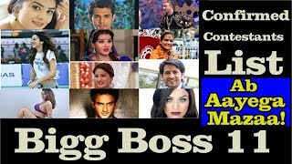 Check Out ! Bigg Boss 10 Contestants Name List video - id