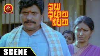 Varalakshmi Blames Kutti Padmini And Visu - Emotional Scene - Illu Illalu Pillalu Movie Scenes