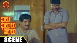 Visu Argues With Ramana Murthy And Blames - Comedy Scene - Illu Illalu Pillalu Movie Scenes