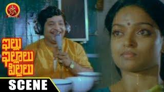 Chandramohan As Radio Jockey Teases Visu - Superb Comedy Scene - Illu Illalu Pillalu Movie Scenes