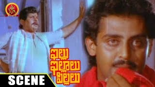 Visu Slaps Anand Babu At Dance Class - Comedy Scene - Illu Illalu Pillalu Movie Scenes