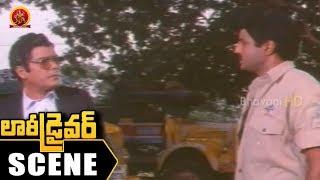 Rao Gopal Rao Gives Bail To Balakrishna - Rao Gopal Rao Sentiment Scene - Lorry Driver Scenes