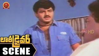 Balakrishna JayaPrakash Reddy Fight - Babu Antony Kills Jaya Prakash Reddy - Lorry Driver Scene