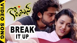 Columbus Movie Songs - Break It Up Video Song - Sumanth Ashwin, Seerat Kapoor, Mishti