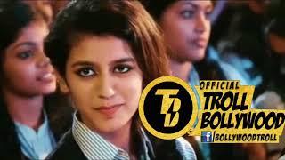 Zakhir Khan Vs Priya Prakash Varrier | Viral Girl | Dubbing | Zakir Khan| Troll Bollywood
