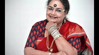 Usha Uthup playing guitar with mesmerizing voice in INKTALK. SKYFALL MUSIC