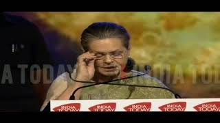 UPA Chairperson Smt. Sonia Gandhi at the India Today Conclave-2018 | Speech and Q&A