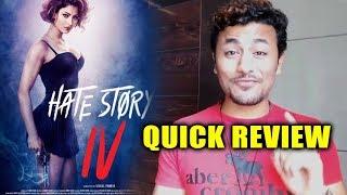 HATE STORY 4 Quick Review | Urvashi Rautela, Karan Wahi, Vivian Bhatena