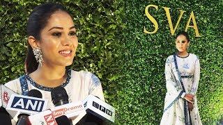 Mira Rajput At Launch Of 'SVA' Flagship Store