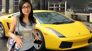 Driving Luxury or Cheap Car - What Girls want (Poor vs Rich)- Social Experiment | TamashaBera