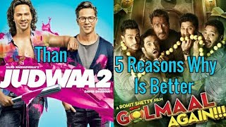 5 Reasons Why Golmaal Again Is Better Than Judwaa 2