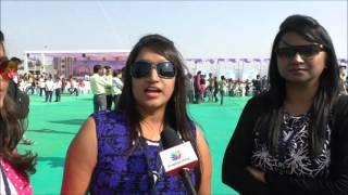 Inauguration of the International Kite Festival at Surat