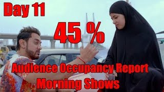 Secret Superstar Audience Occupancy Report Day 11 Morning Shows