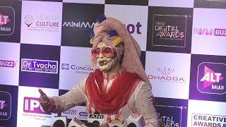 Pammi Aunty ( Ssumier Pasricha ) At IWM Digital Awards