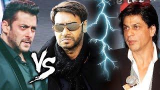 Salman Khan And Ajay Devgn BIG CLASH, Shahrukh Khan In TROUBLE