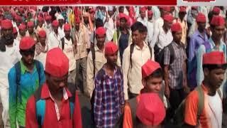 35 हजार किसान पहुंचे मुंबई के करीब, 12 मार्च को करेंगे महाराष्ट्र विधानसभा का घेराव