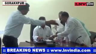 प्रमुख सचिव नगर मनोज कुमार सिंह ने किया गोरखपुर का दौरा