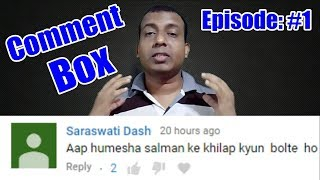 Bollywood Crazies Sunday Comment Box Episode #1