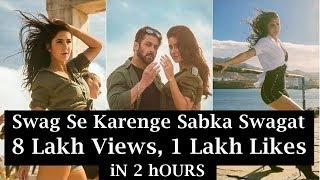Swag Se Karenge Sabka Swagat Song Gets 8 Lakhs Views And 1 Lakhs Likes In 2 Hours