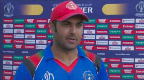 ICC World Cup Qualifier: Afghanistan vs Nepal