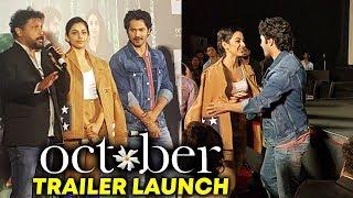 Varun Dhawan And Banita Sandhu GRAND ENTRY At October Trailer Launch