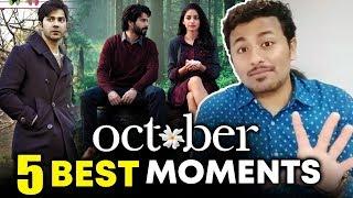 October Trailer   TOP 5 BEST MOMENTS   Varun Dhawan, Banita Sandhu