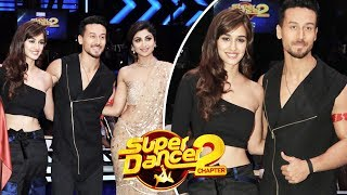 Tiger Shroff And Disha Patani BAAGHI 2 Promotion On Super Dancer 2 video -  id 341d97967e35ce - Veblr Mobile