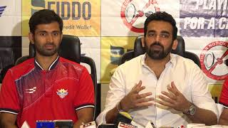 Cricketer and Chief Mentor Zaheer Khan Launches Team Sobo Supersonics