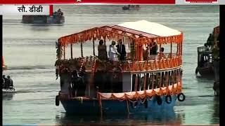 India Voice: PM Modi, French President Macron take a boat ride along the Ganga Ghats in Varanasi