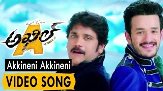 Akkineni Akkineni Video Song || Akhil Movie Video Songs || Akhil Akkineni, Sayesha