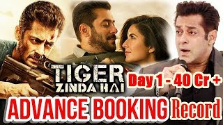 Tiger Zinda Hai Advance Booking Record I Salman Film Cross 40 Crores On Day 1