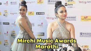 Stunning Amruta Khanvilkar At Mirchi Music Marathi Awards 2018